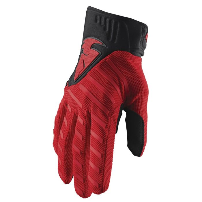 THOR Rebound Motocross Handschuhe rot schwarz