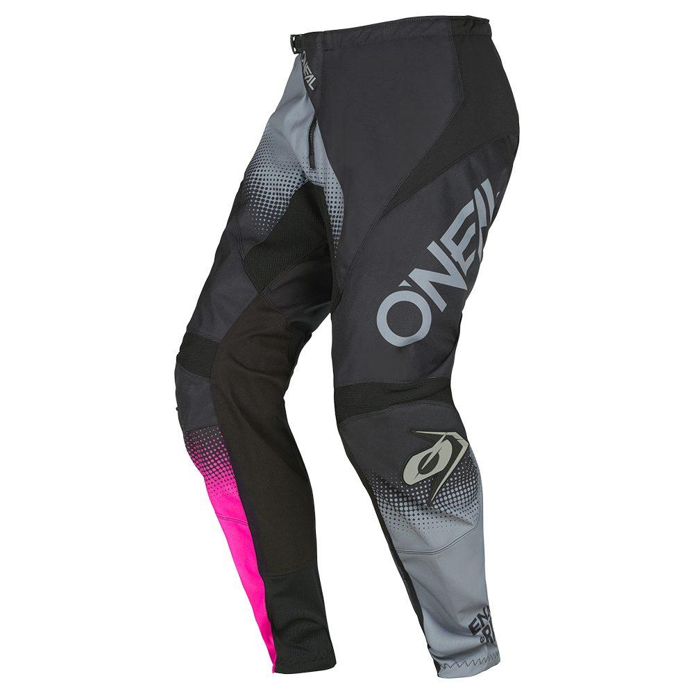 ONEAL Element Women Racewear V.22 MX Frauen Hose schwarz grau pink