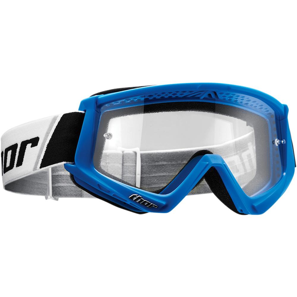 THOR Combat MX MTB Brille blau weiss