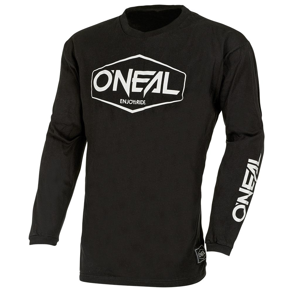 ONEAL Element Cotton Youth Hexx V.22 MX Kinder Jersey schwarz weiss