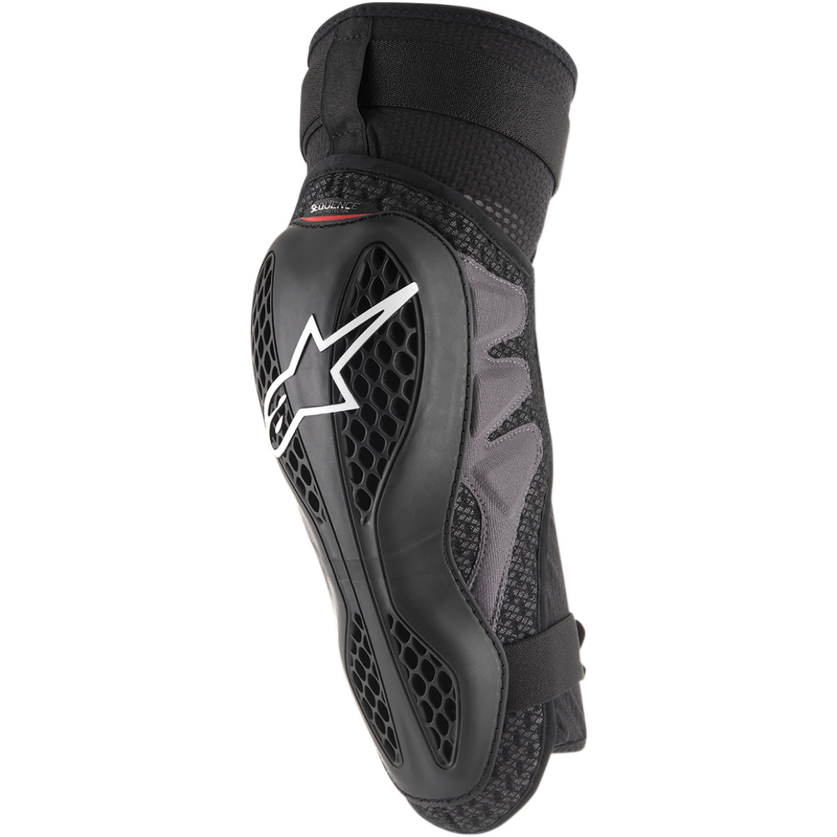 ALPINESTARS Sequence Motocross Knie Protektoren schwarz rot
