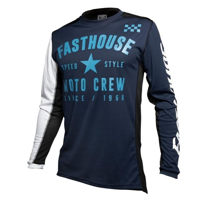FASTHOUSE Origins Air Cooled Offroad Jersey navy