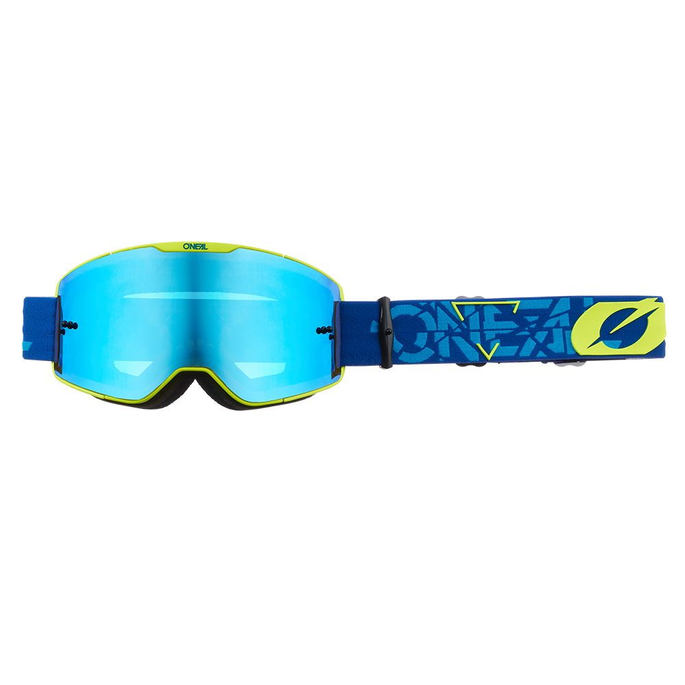 ONEAL B-20 Strain V.22 MX MTB Brille blau gelb