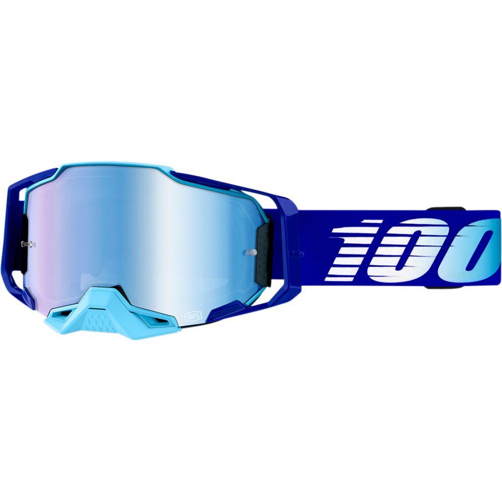 100% Armega Royal MX MTB Brille blau verspiegelt