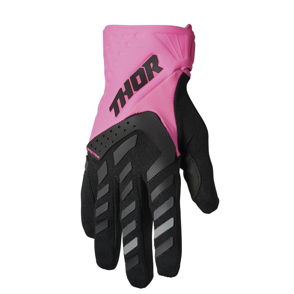 THOR Sectrum Women Frauen Motocross Handschuhe pink schwarz