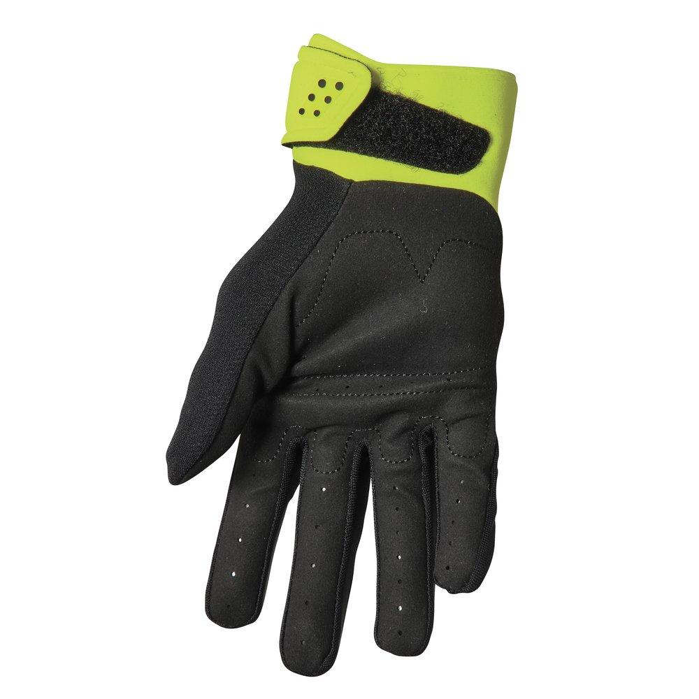 THOR Spectrum Motocross Handschuhe schwarz gelb