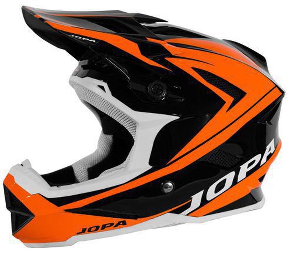 JOPA Flash MTB Helm schwarz orange