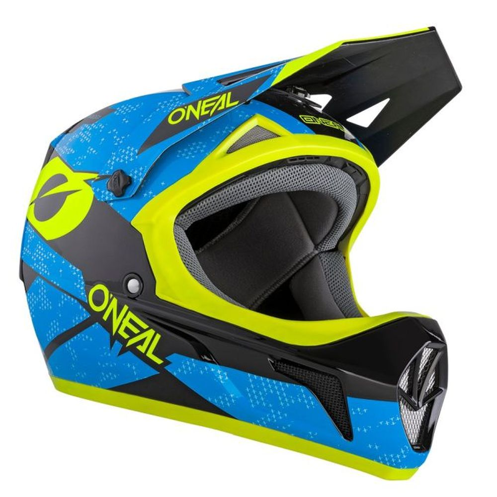 ONEAL Sonus Deft MTB Helm blau gelb