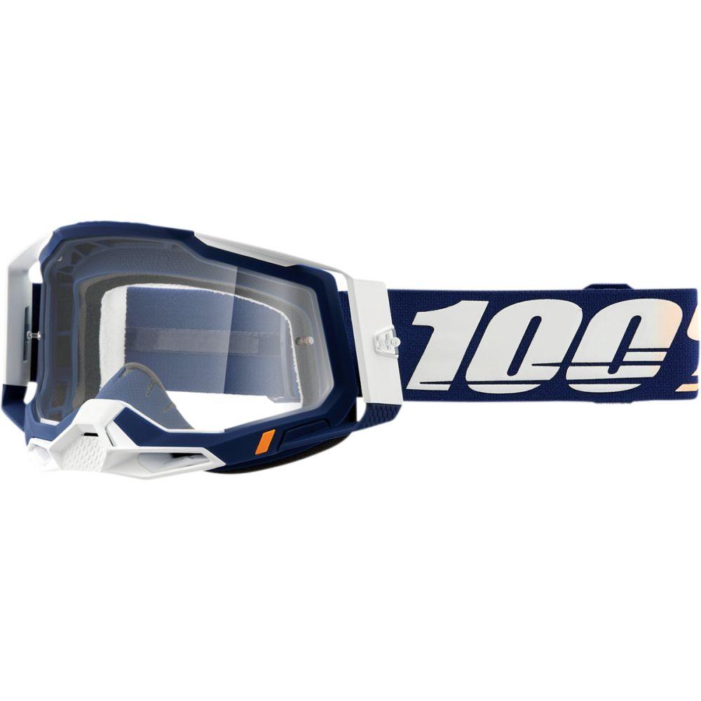 100% Racecraft 2 Concordia MX MTB Brille klar
