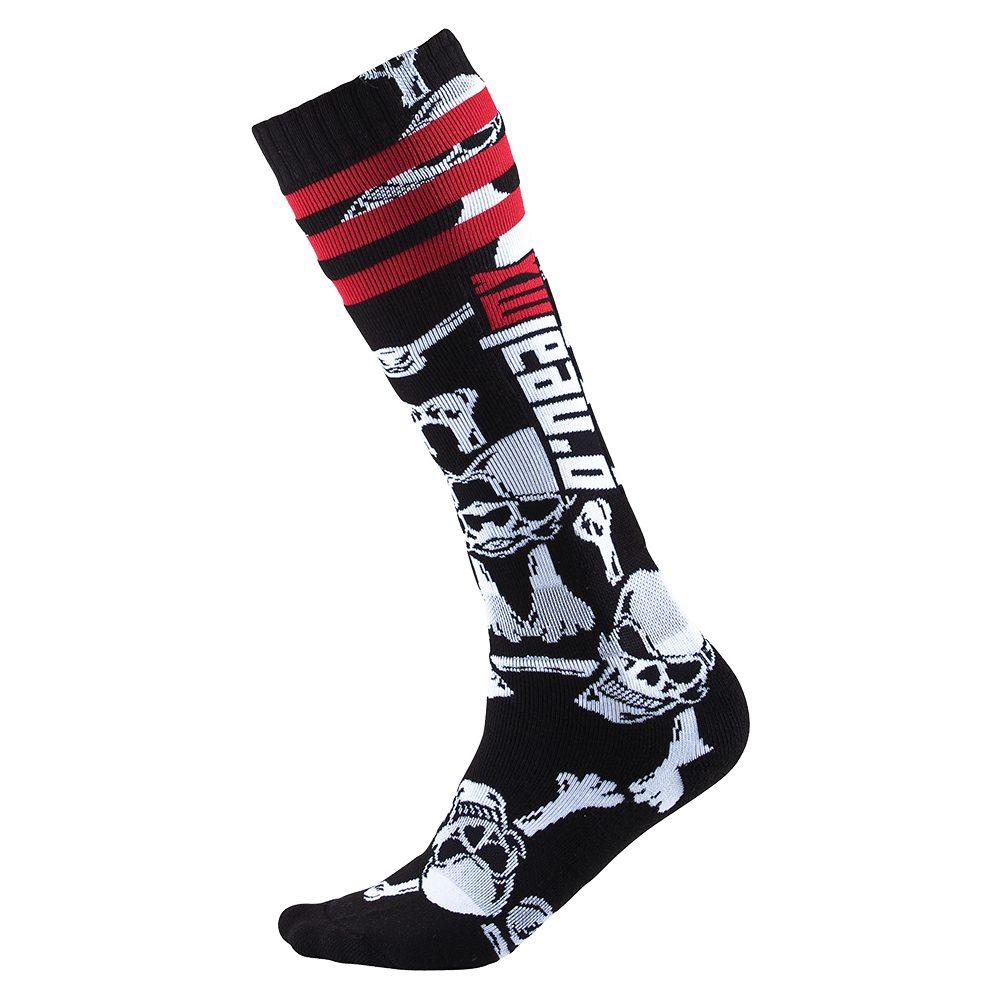 ONEAL PRO Crossbone V.22 MX Socken schwarz weiss