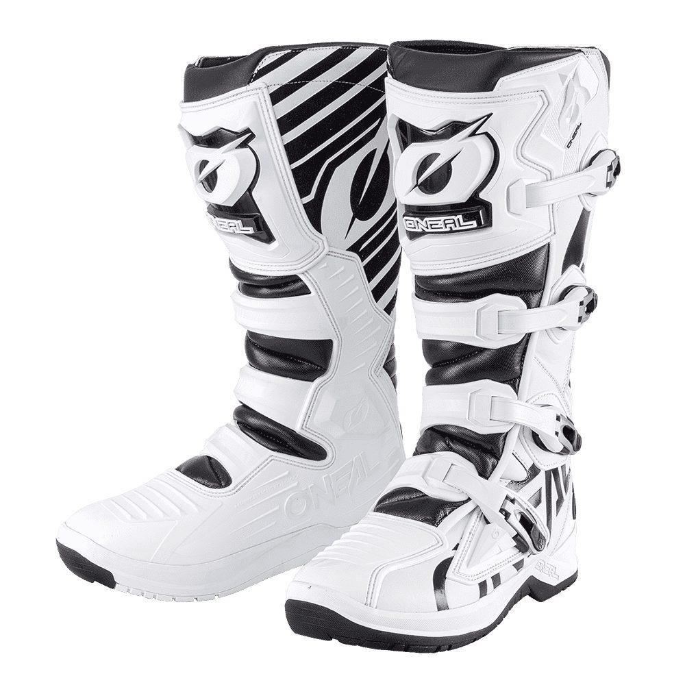 ONEAL RMX Boot EU Motocross Stiefel weiss schwarz
