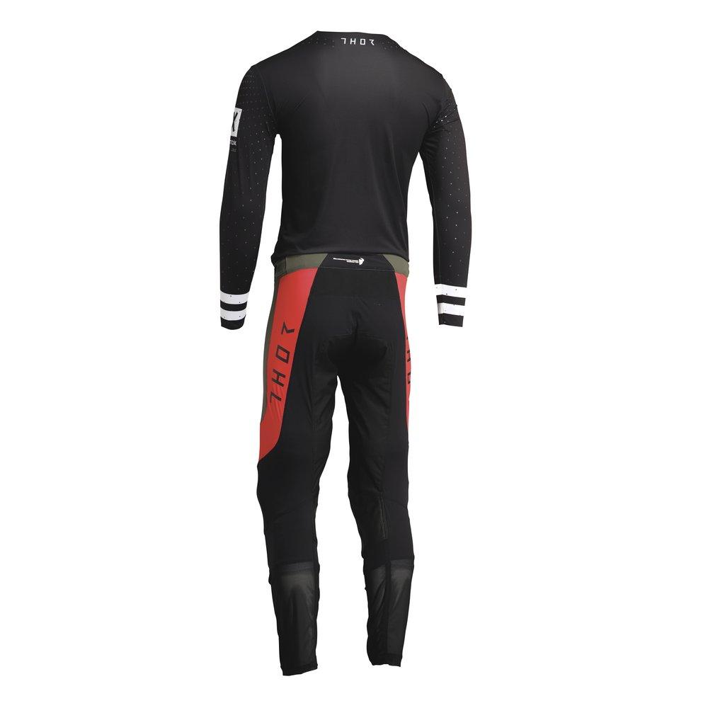 THOR Prime Status Motocross schwarz grau