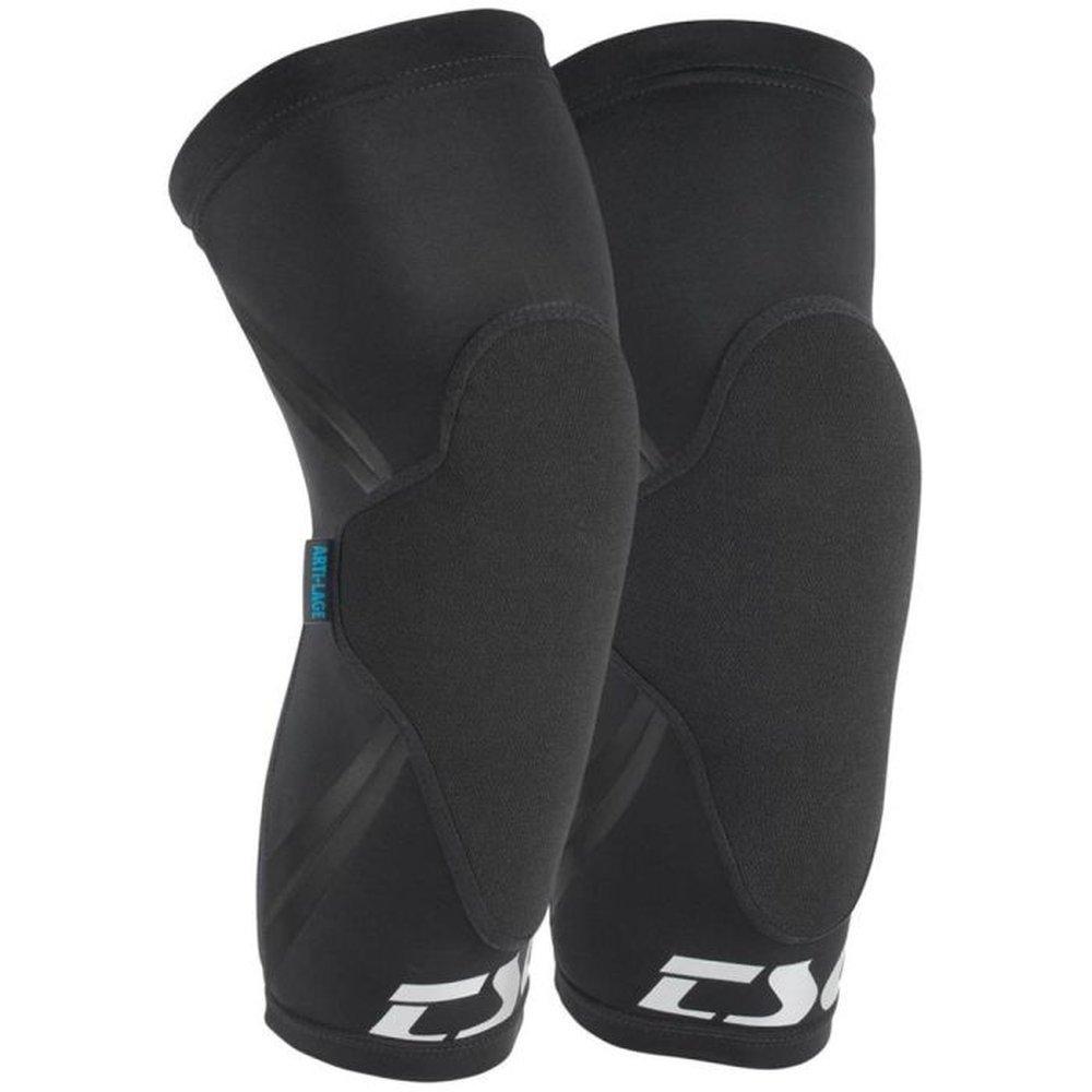 TSG Knee Sleeve Dermis MTB Knieprotektoren schwarz
