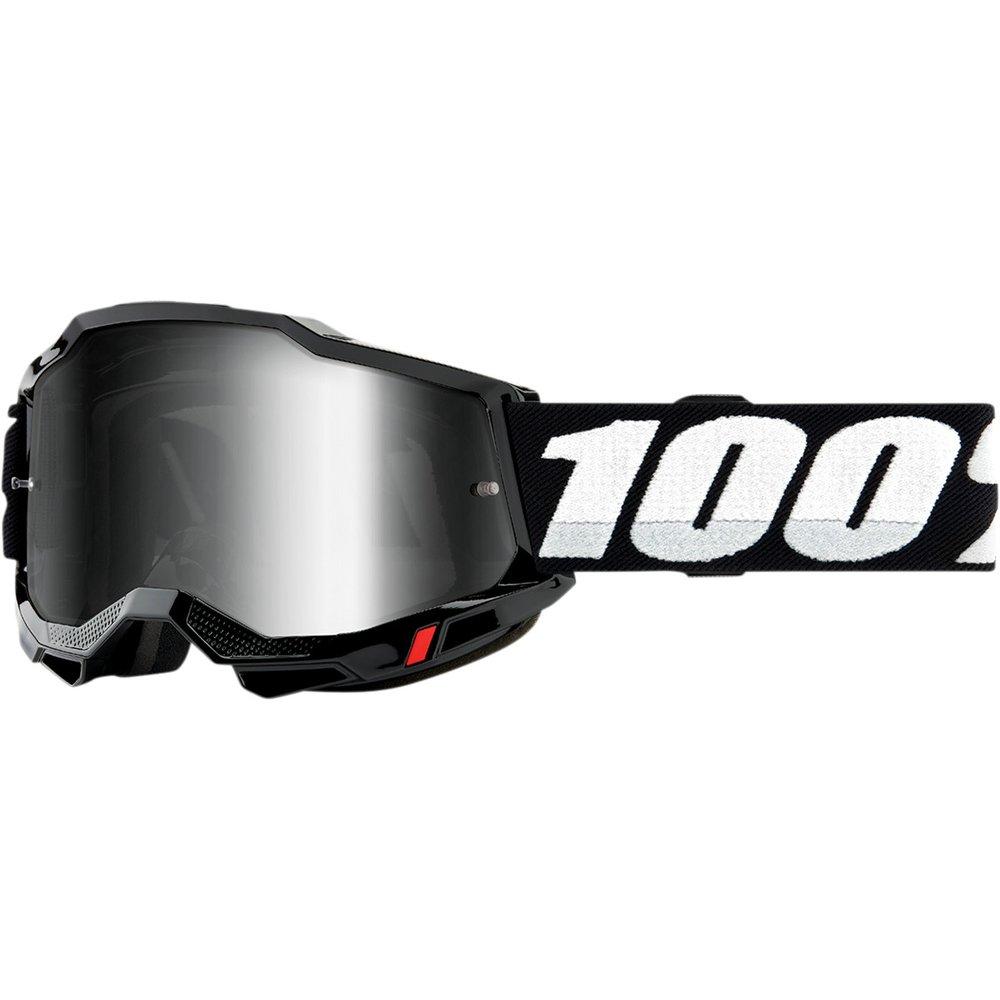 100% Accuri 2 MX MTB Brille silber verspiegelt