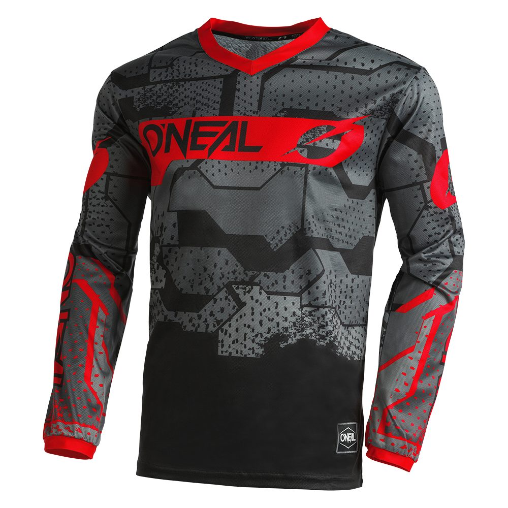 ONEAL Element Camo V.22 MX Jersey schwarz rot