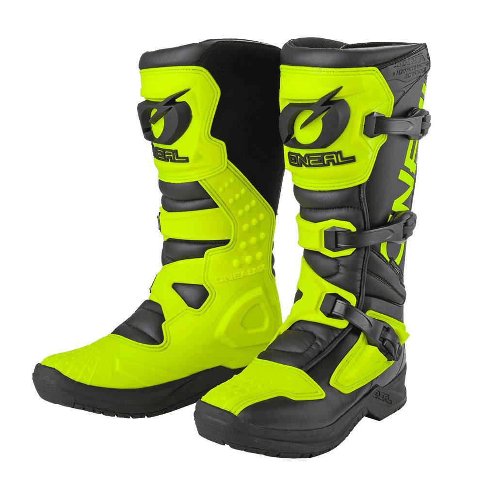 ONEAL RSX Boot EU Motocross Stiefel schwarz gelb