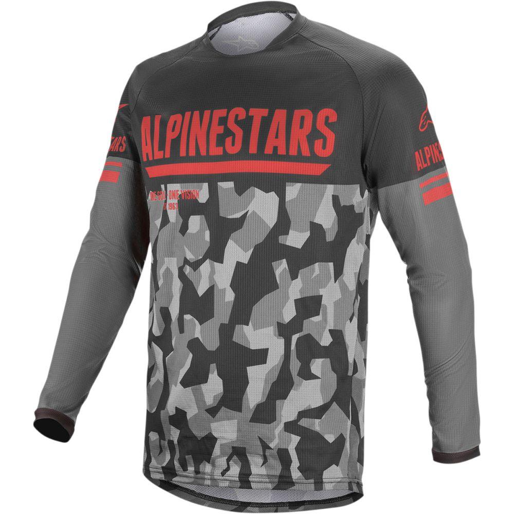 ALPINESTARS Venture-R MX MTB Jersey camo rot