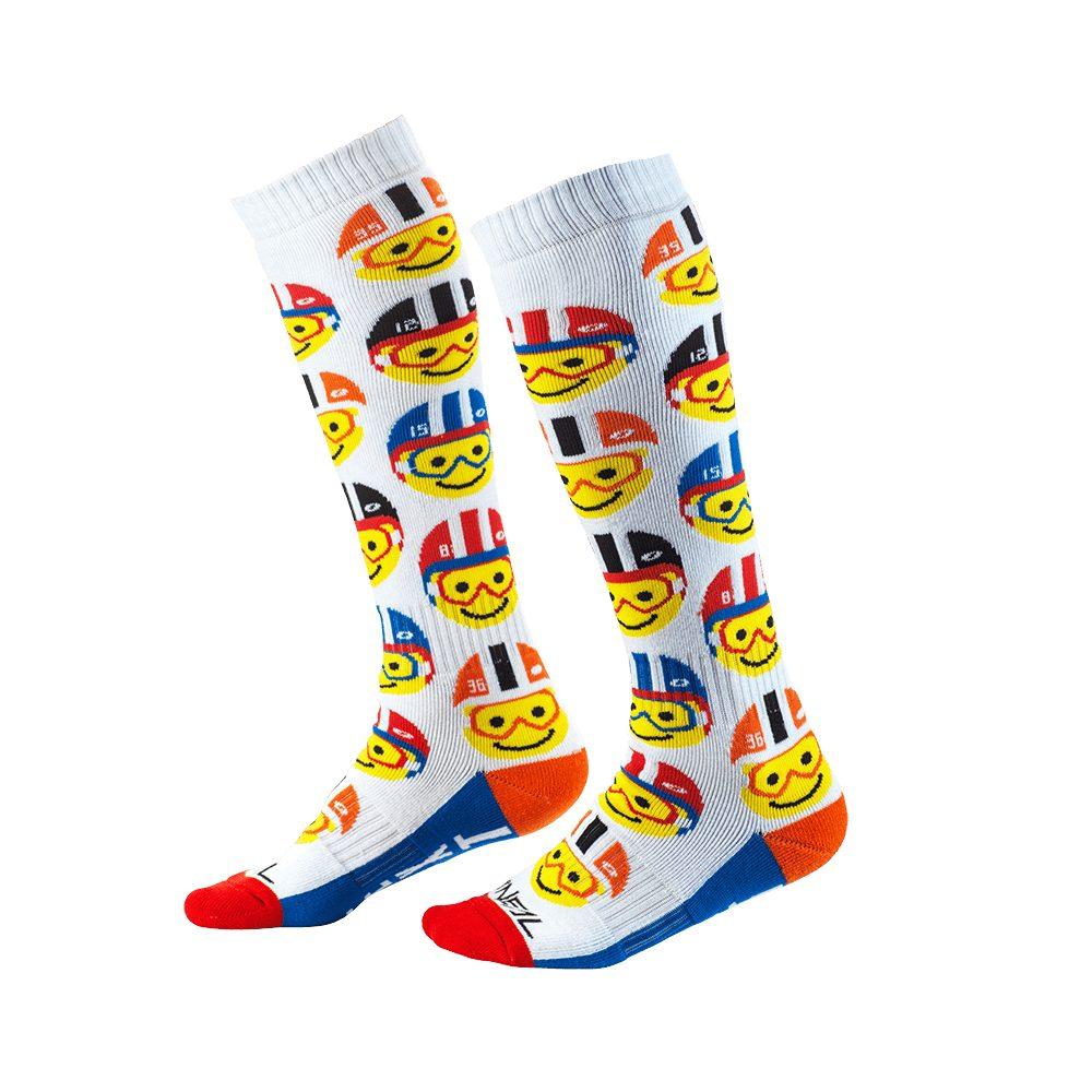 ONEAL PRO Youth Emoji Racer MX Kinder Socken multi