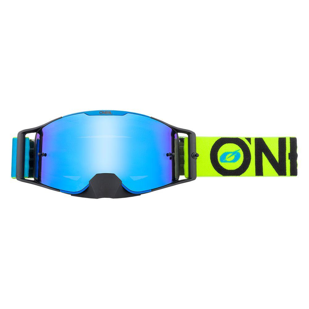 ONEAL B-30 Bold MX MTB Brille blau gelb rot