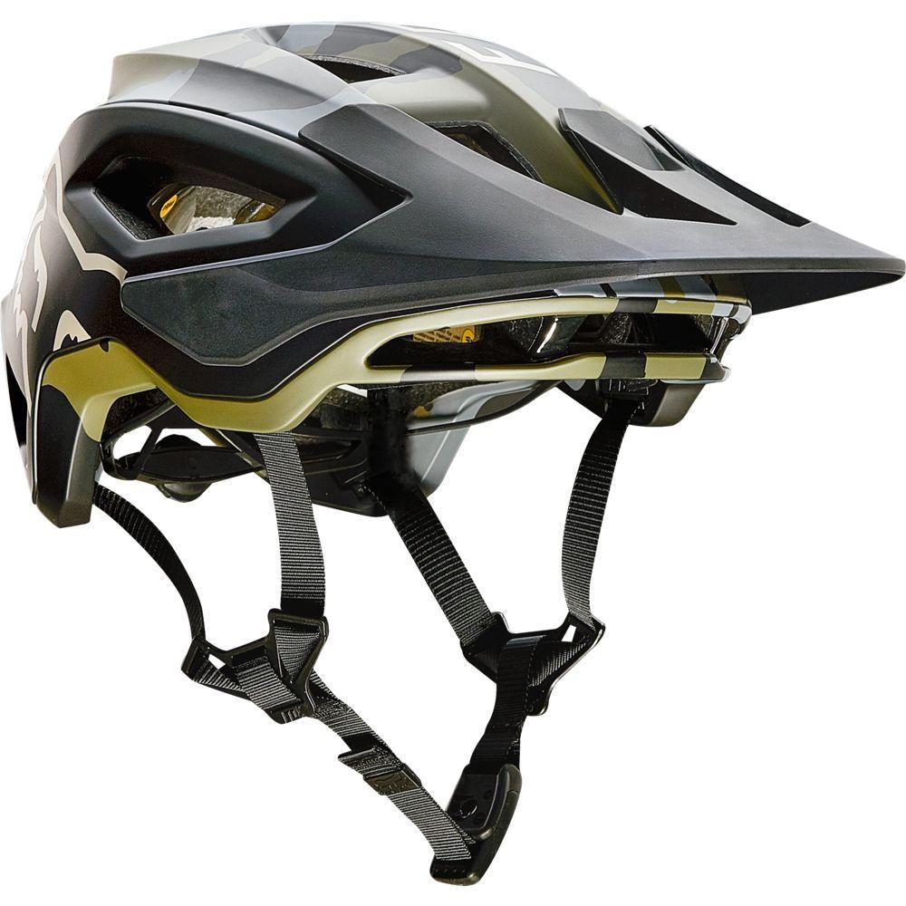 FOX Speedframe Pro Mips MTB Helm camo