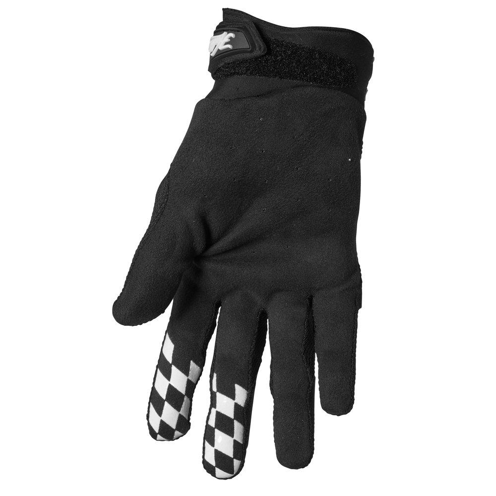 THOR Hallman Digit Motocross Handschuhe schwarz weiss