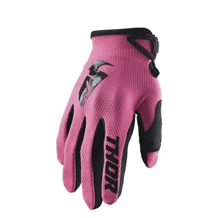 THOR Sector Frauen MX MTB Handschuhe pink