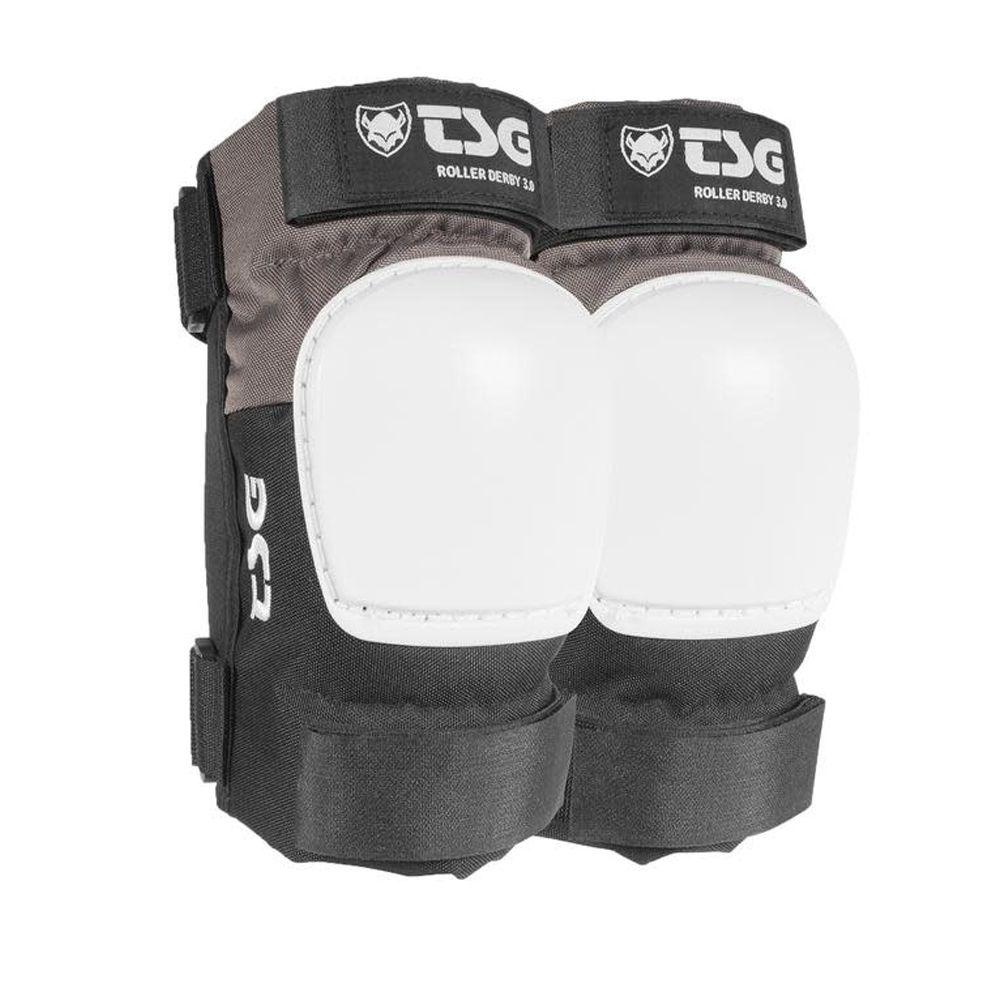 TSG Elbow Pads Roller Derby 3.0 MTB Ellenbogen Protektoren grau schwarz