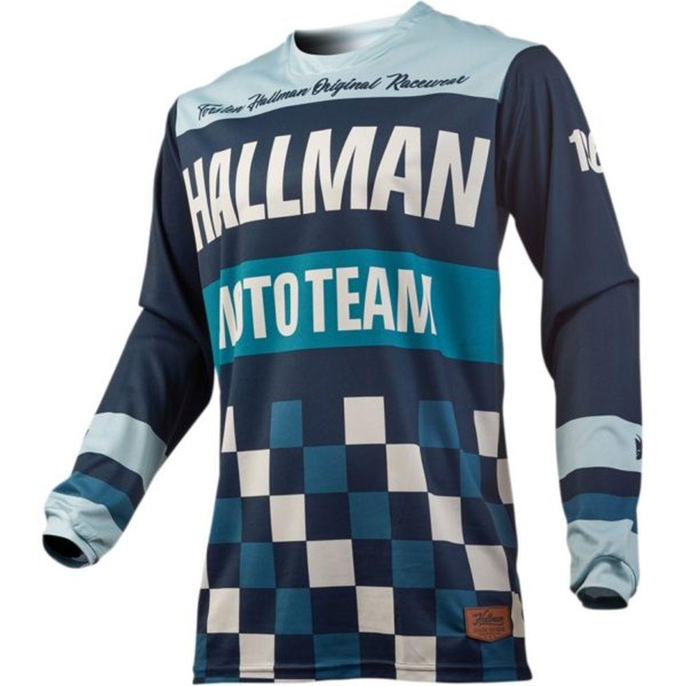THOR Hallman Pulse Heater Motocross Jersey midnight sky