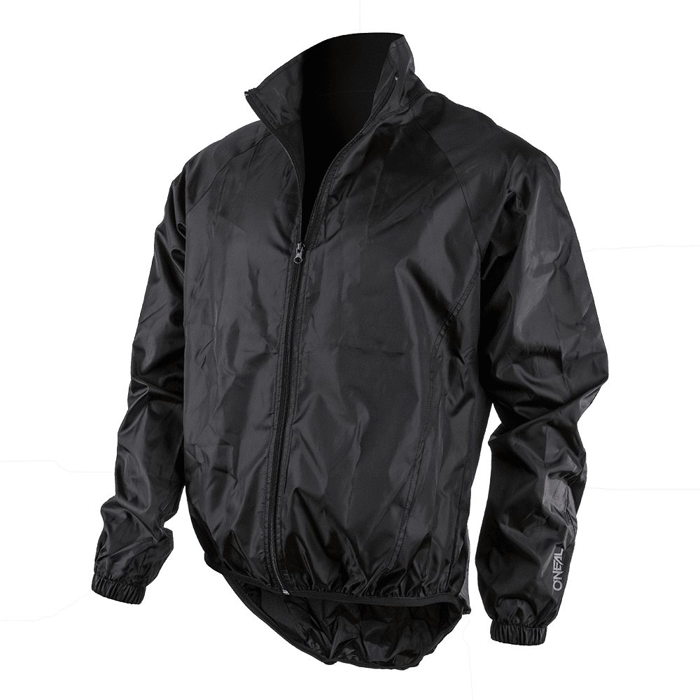 ONEAL Breeze Rain Jacket MX MTB Regenjacke schwarz