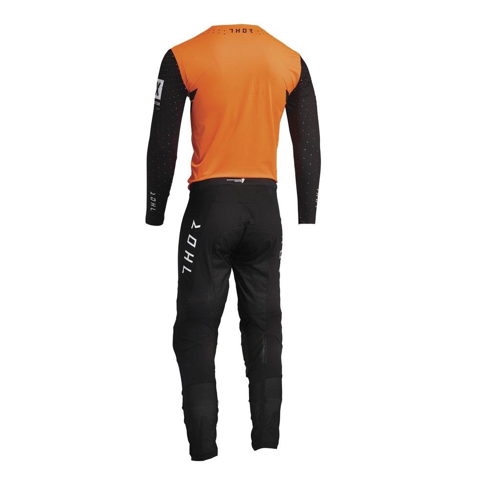 THOR Prime Hero Motocross Jersey schwarz orange