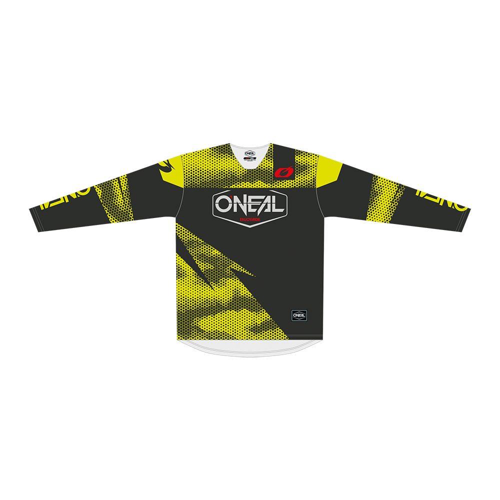 ONEAL Mayhem Covert MX Jersey grau gelb
