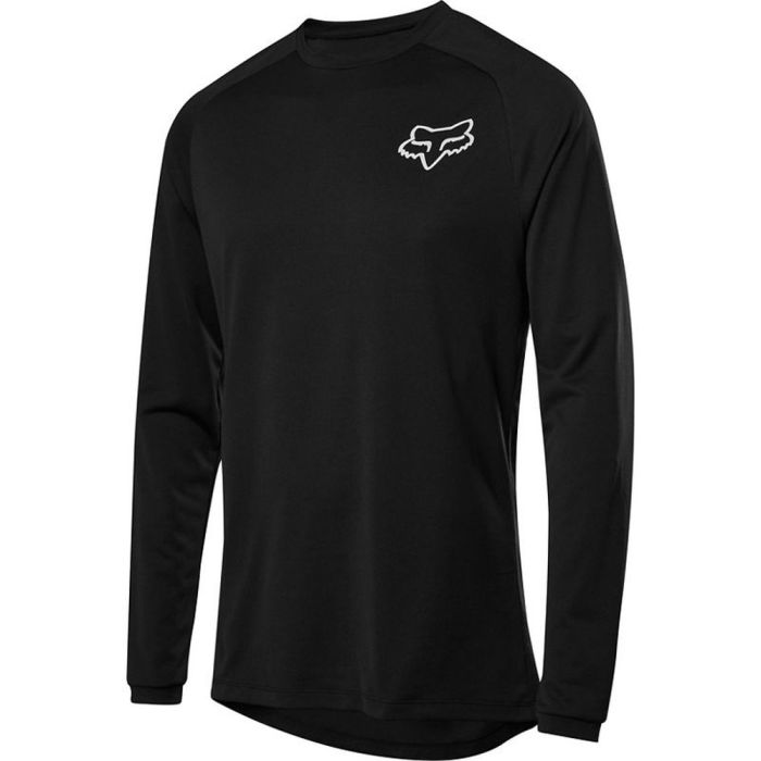 FOX Tec Base langärmliges MTB Baselayer Jersey schwarz