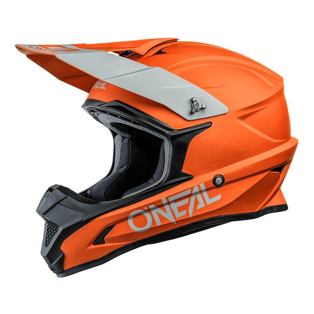 ONEAL 1SRS Solid MX Helm orange
