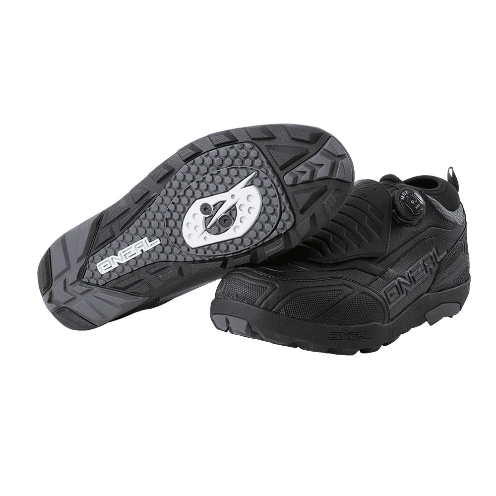 ONEAL Loam WP SPD MTB Schuhe schwarz grau