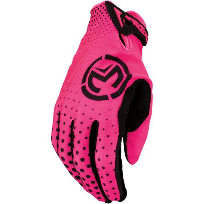 MOOSE RACING SX1 Motocross Handschuhe pink