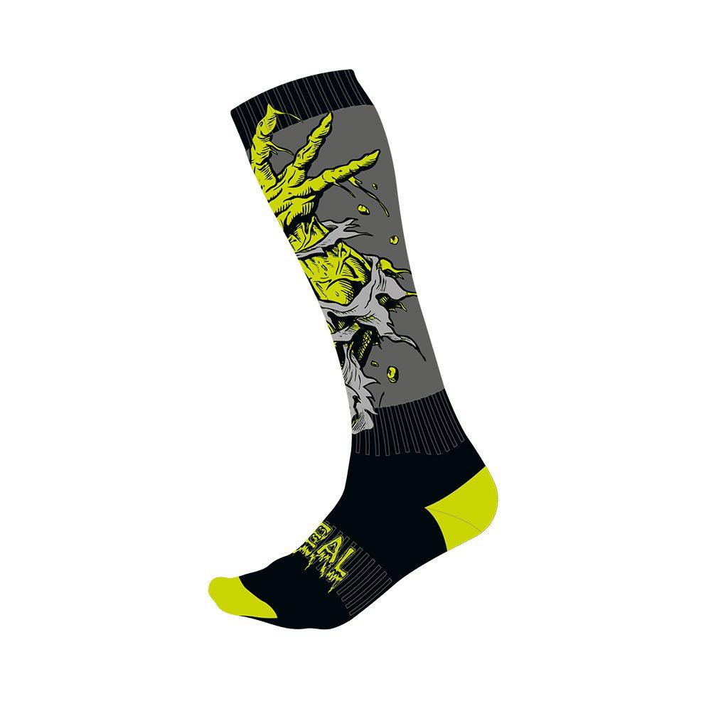 ONEAL PRO Zombie MX Socken schwarz grün