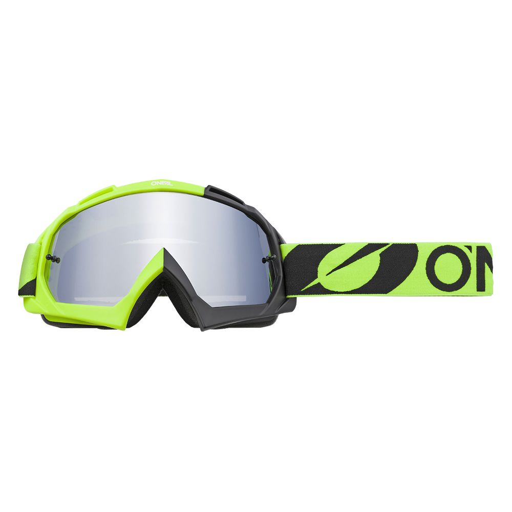 ONEAL B-10 Twoface MX MTB Brille schwarz gelb silber verspiegelt