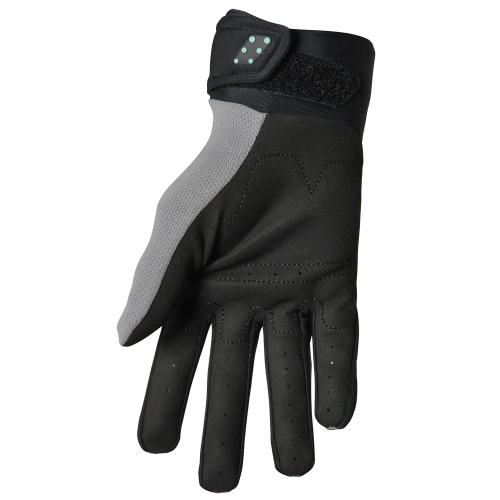 THOR Spectrum Motocross Handschuhe grau schwarz midnight