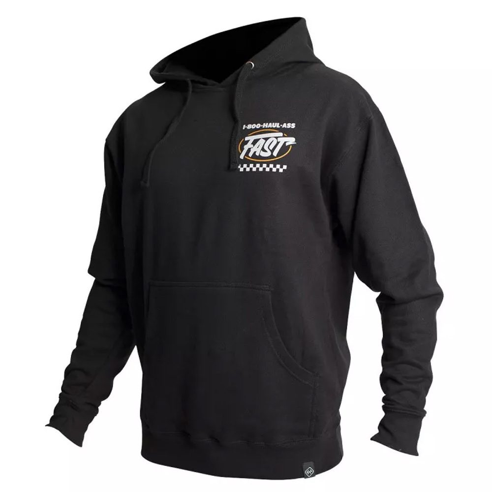 FASTHOUSE Hooded Toll Free Kapuzen Pullover schwarz