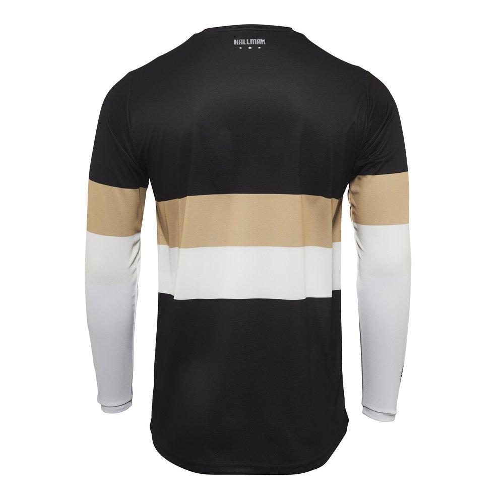THOR Hallman Differ Drift  Motocross Jersey schwarz light tan