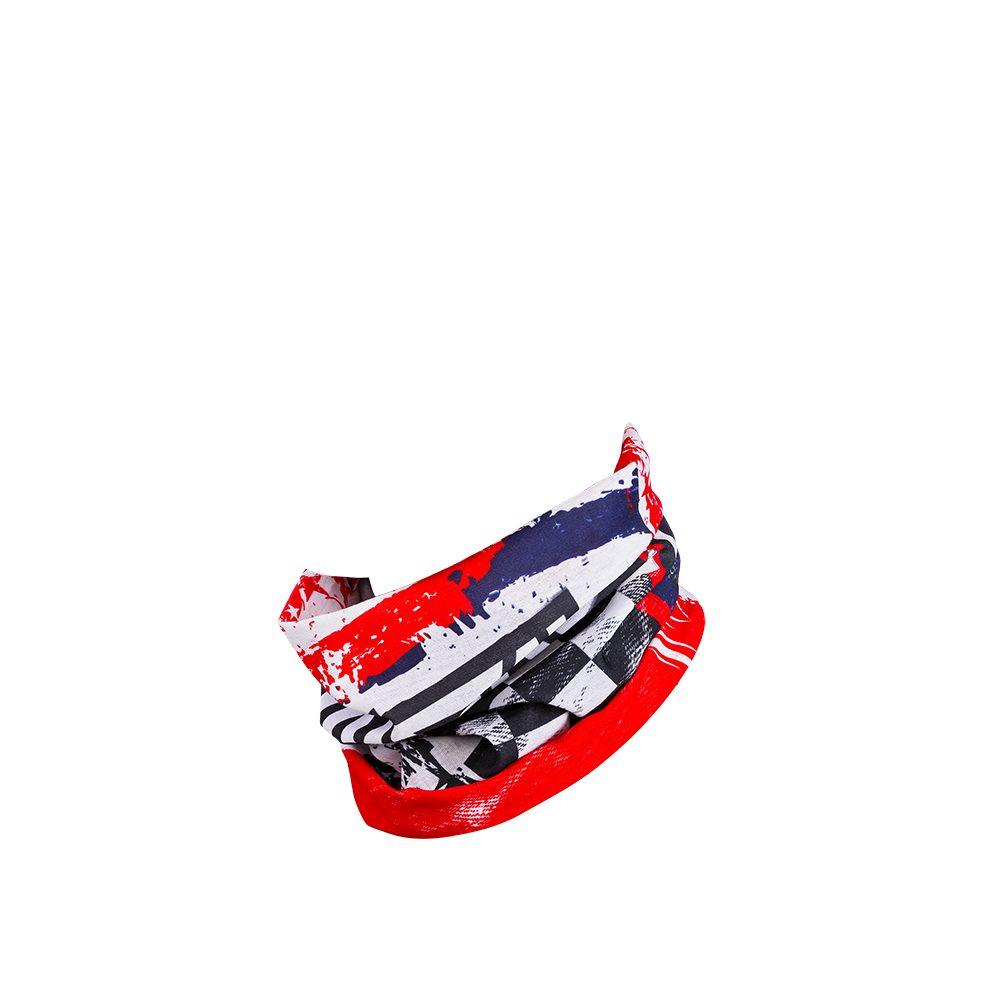 ONEAL USA Schlauchschal weiss blau rot