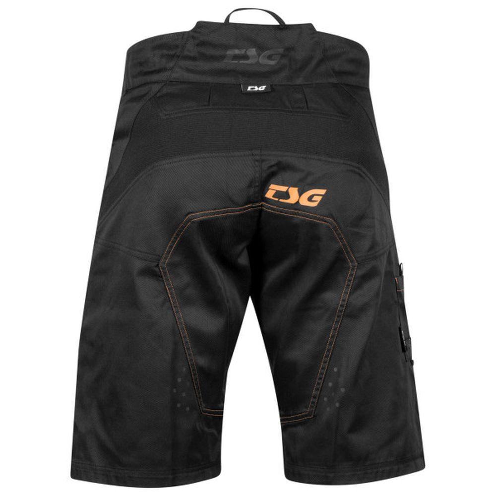 TSG Worx Shorts kurze MTB schwarz orange