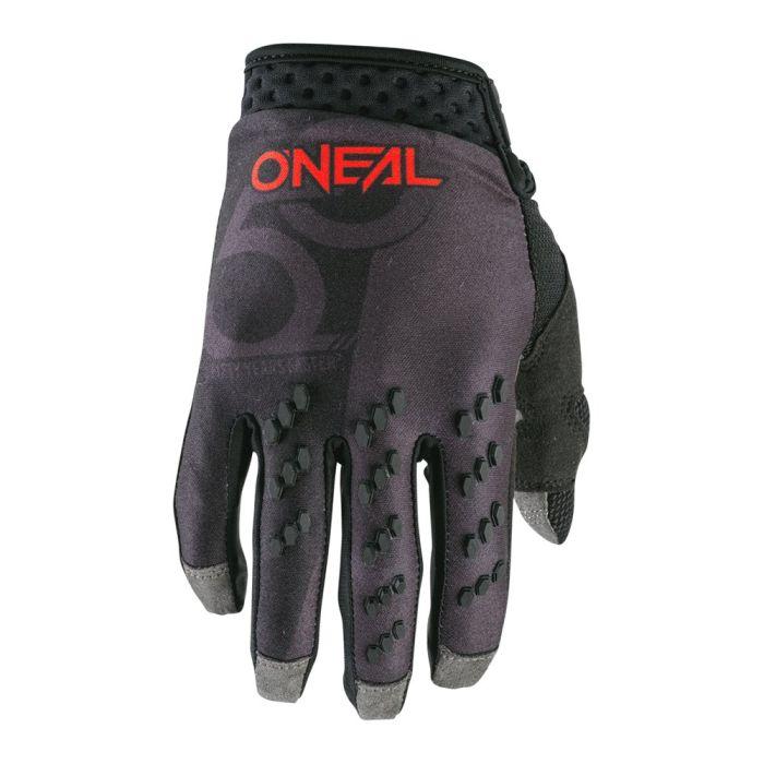 ONEAL Prodigy Five Zero MX MTB Handschuhe schwarz neonrot