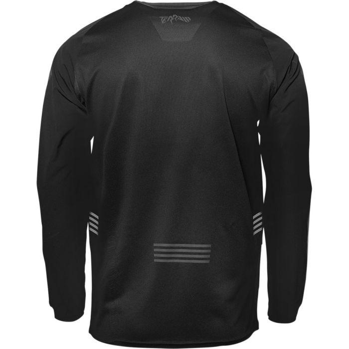 THOR Terrain Motocross Jersey schwarz