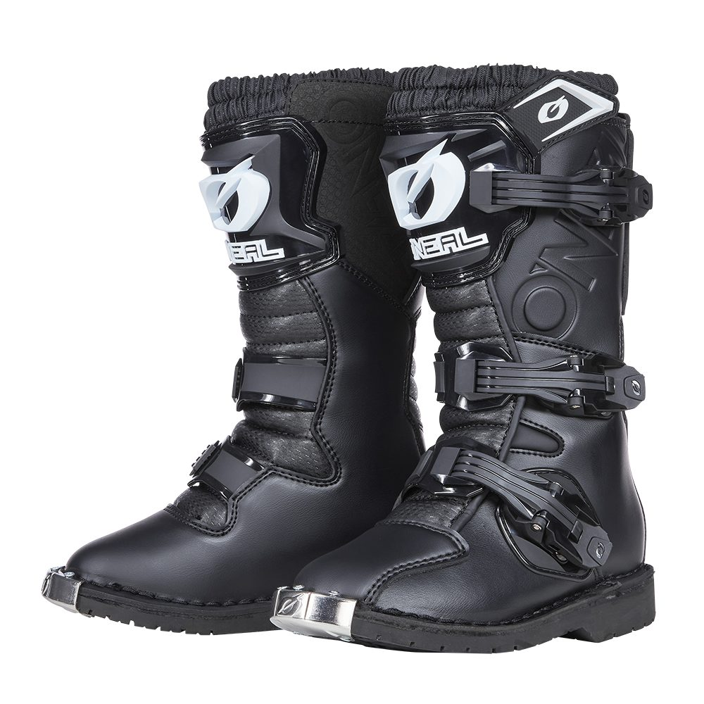 ONEAL Rider Pro Youth Boot Kinder Motocross Stiefel schwarz