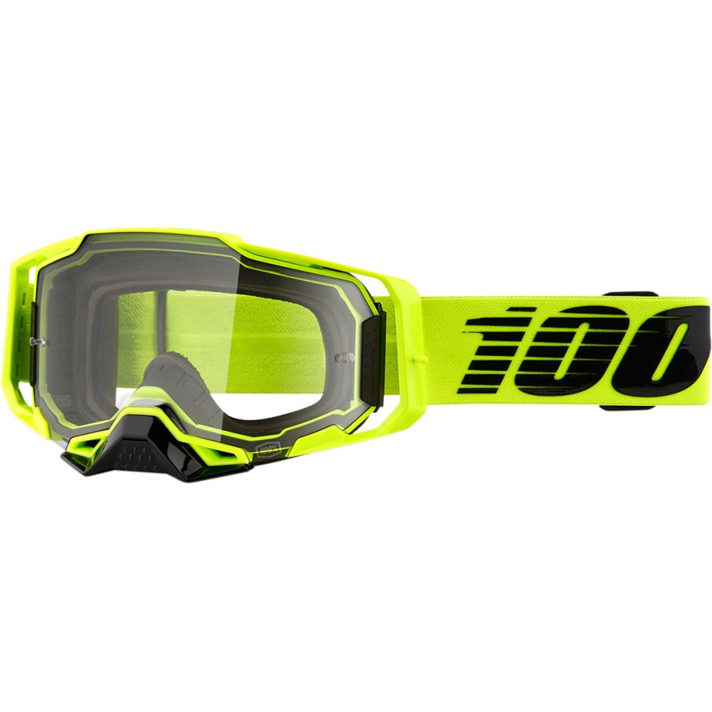 100% Armega Nuccir MX MTB Brille klar