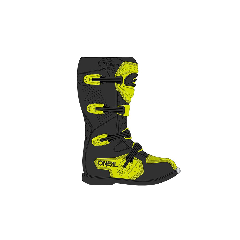 ONEAL Rider Pro Boot Motocross Stiefel gelb