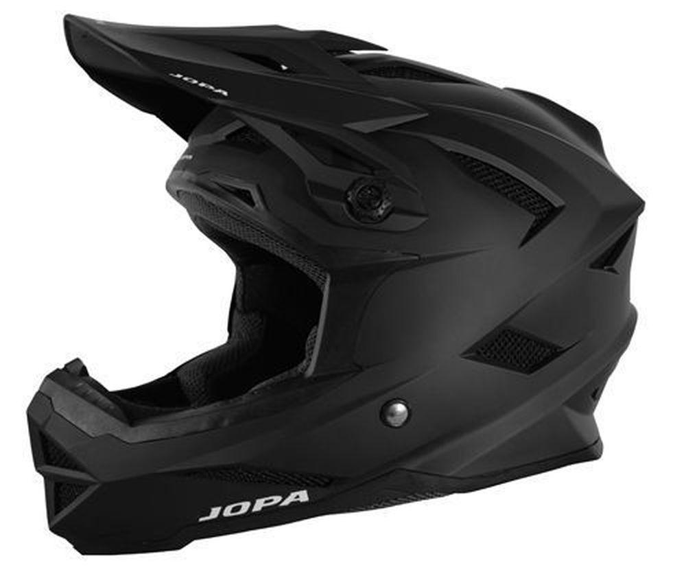 JOPA Flash MTB Helm matt schwarz