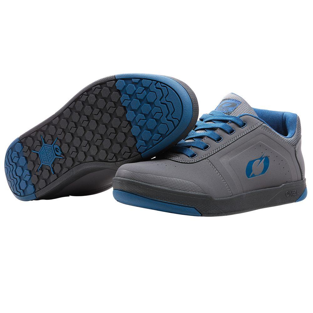 ONEAL Pinned Pro Flat V.22 MTB Schuhe grau blau